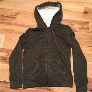 Almost Famous sherpa hooded sweater hoodie, S